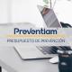 Presupuesto de prevención de riesgos laborales